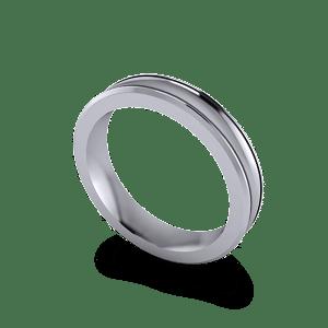 concaved palladium band