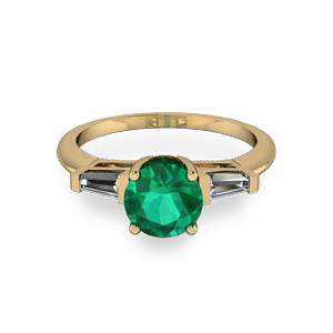 Art deco gold ring