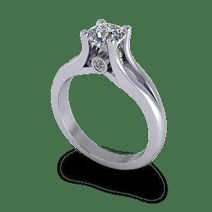 Split shank commitment ring