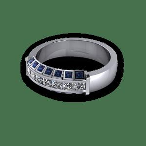 lexandrite and diamond ring