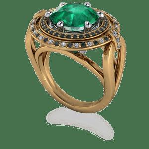Gothic, Emerald, Halo, ,